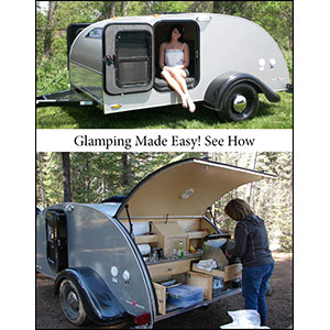 Little Guy Teardrop Trailers: Glamping made easy. See how: www.golittleguy.com