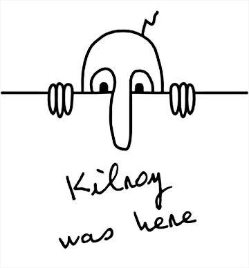 kilroy was here raising jane journal Gift of Gab Game gift gab kilroy1