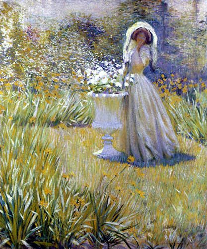 Hale_Woman_in_garden