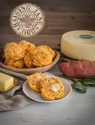 ... Recipe: Sweet Potato, Cheddar & Sage Biscuits | Raising Jane Journal
