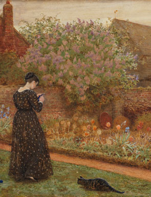 Frederick_Walker,_The_Old_Farm_Garden,_1871