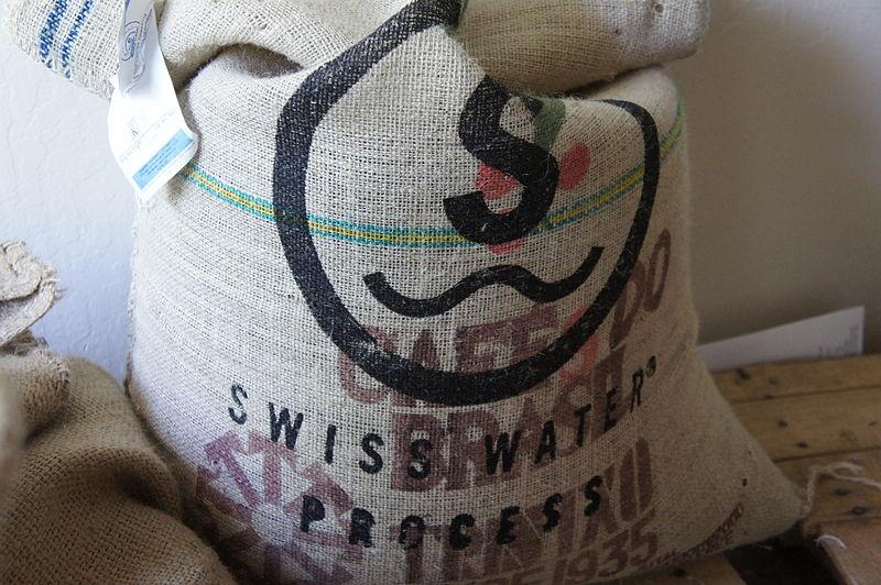 800px-Green_Decaffeinated_Brazilian_Coffee_Sack