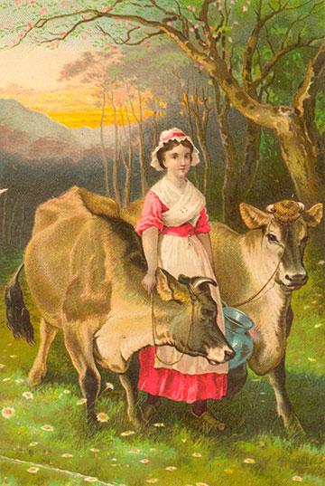 Cow-Maiden