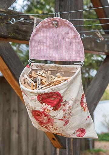 Clothespin Bag 1111